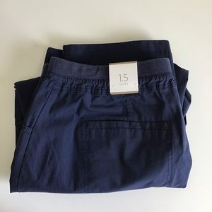 Chico's Fitigues Easy Crop Capri Cargo Pants